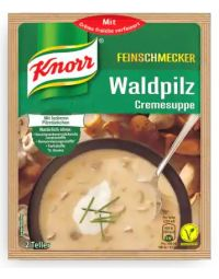 Knorr Waldpilzcremesuppe