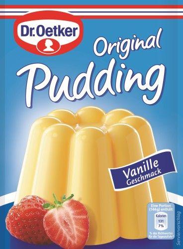 Dr Oetker Original Pudding Vanille