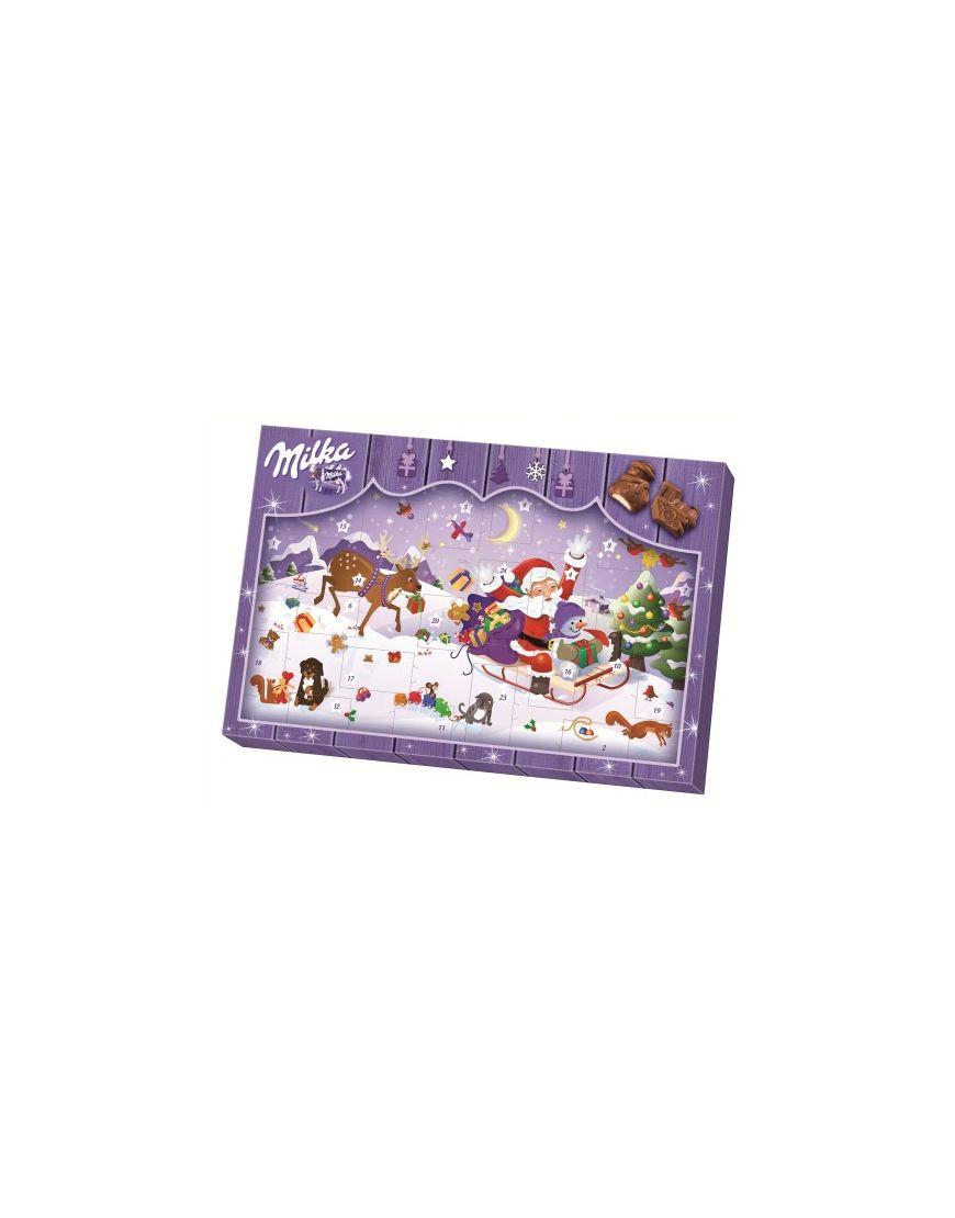 Milka Weihnachtskalender.Milka Adventskalender